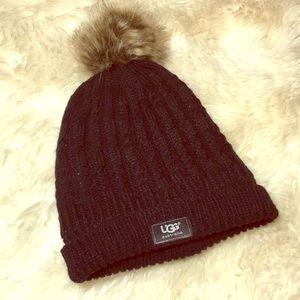 Ugg beanie Pom Pom hat